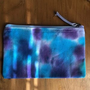 Small tie dye canvas bag